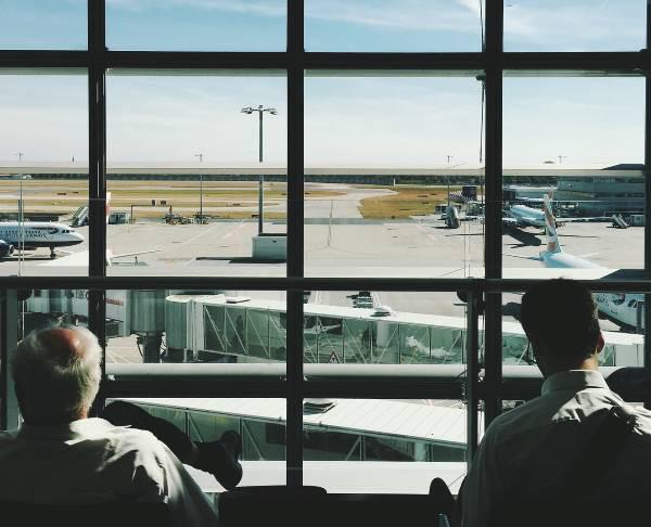 Obserwowanie płyty lotniska