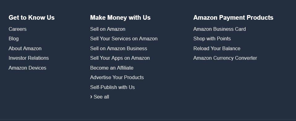 Amazon fonty