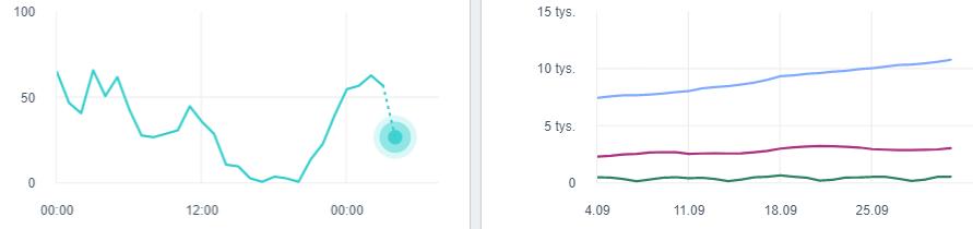 Aktywność - Facebook Analytics